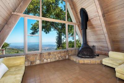 Santa Barbara Single Family Home For Sale: 4839 Rim Rd