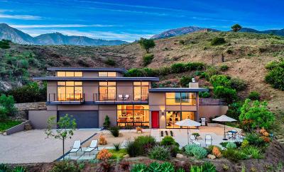 Santa Barbara Single Family Home For Sale: 2018 Las Canoas Ridge Way