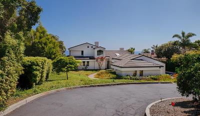 Santa Barbara County Single Family Home For Sale: 4161 Creciente Dr