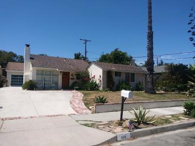 Single Family Home For Sale: 1210 Del Oro Ave