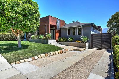Santa Barbara County Single Family Home For Sale: 2926 Serena Rd