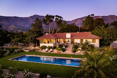 Santa Barbara County Single Family Home For Sale: 2255 Featherhill Rd