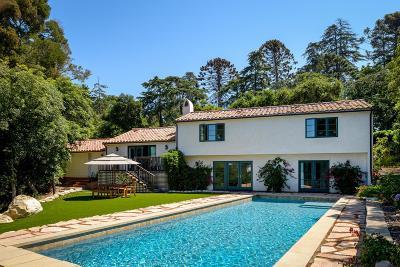 Santa Barbara County Single Family Home For Sale: 1201 Cima Linda Ln