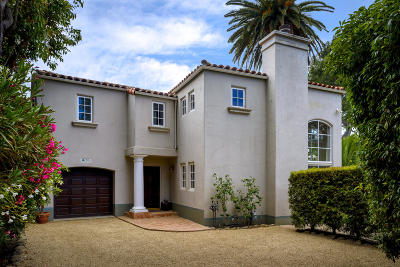 Santa Barbara County Single Family Home For Sale: 1675 San Leandro Ln