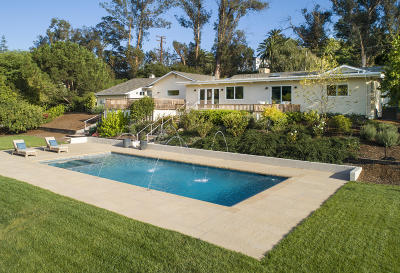 Santa Barbara County Single Family Home For Sale: 575 Barker Pass Rd