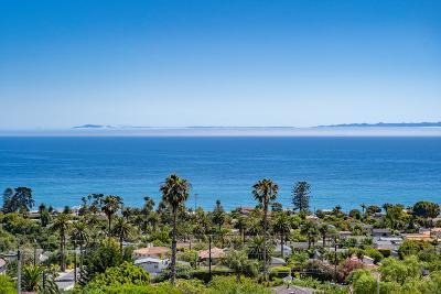 Santa Barbara CA Single Family Home For Sale: $3,575,000
