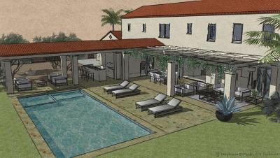 Santa Barbara County Single Family Home For Sale: 2775 E Valley Rd