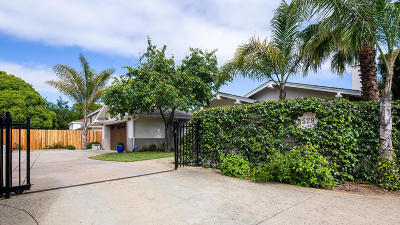 Single Family Home For Sale: 4529 Hollister Ave