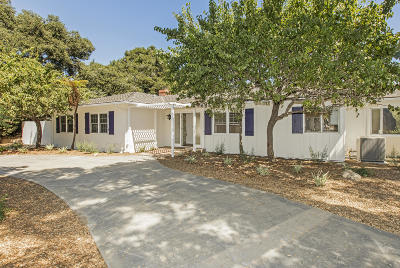 Single Family Home For Sale: 160 Santo Tomas Lane