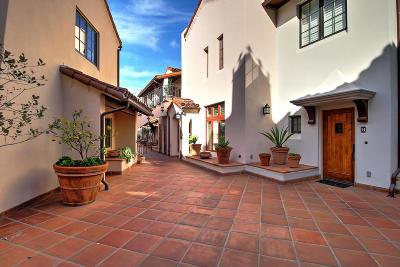 Condo/Townhouse For Sale: 105 W De La Guerra St #K