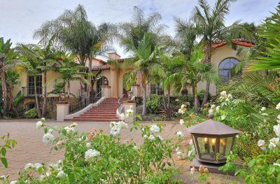 Single Family Home For Sale: 405 Via Hierba