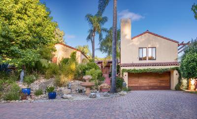 Santa Barbara Single Family Home For Sale: 1910 Barker Pass Rd