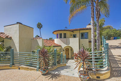 Santa Barbara Single Family Home For Sale: 223 Alameda Padre Serra