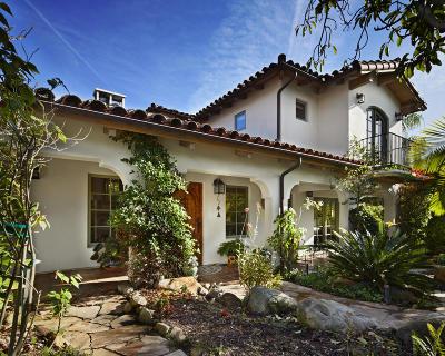 Santa Barbara Single Family Home For Sale: 2649 Dorking Pl