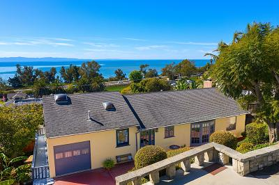 Santa Barbara County Single Family Home For Sale: 2323 Banner Ave