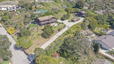 Santa Barbara County Single Family Home For Sale: 434 Venado Dr