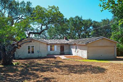 Carpinteria CA Single Family Home For Sale: $997,500