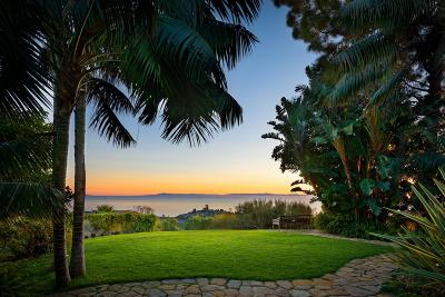 Summerland CA Single Family Home For Sale: $11,500,000