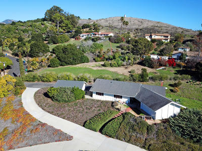 Santa Barbara County Single Family Home For Sale: 220 Vereda Del Ciervo