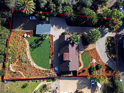Santa Barbara County Single Family Home For Sale: 2505 Foothill Ln