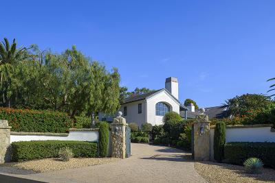 Santa Barbara County Single Family Home For Sale: 4050 Mariposa Dr