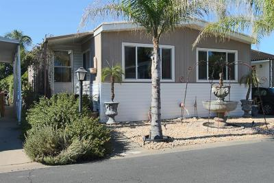 Yuba City CA Manufactured Home Sale Pending: $59,950