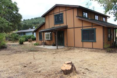 Browns Valley Single Family Home Pending Bring Backup: 12172 Dolan Harding Road