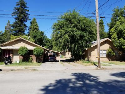 Yuba City Multi Family Home For Sale: 806 Olive Street