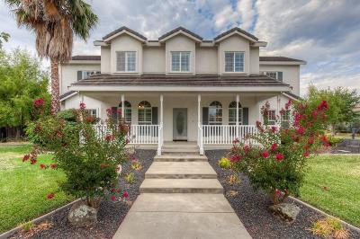 Yuba City Single Family Home Contingent: 1745 Regency Way