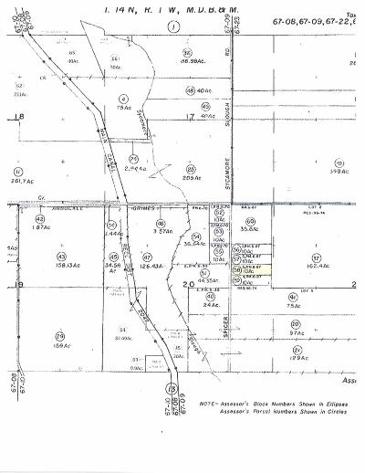 Arbuckle Residential Lots & Land For Sale: Spicer