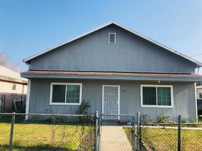 Colusa CA Single Family Home For Sale: $165,000