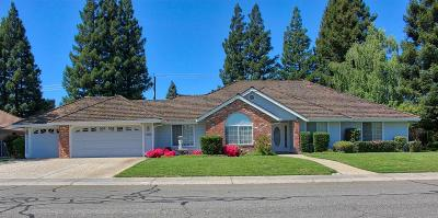 Yuba City Single Family Home Contingent: 1700 Capri Drive