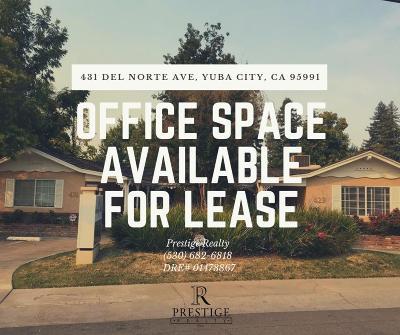 Yuba City Commercial For Sale: 431 Del Norte Avenue