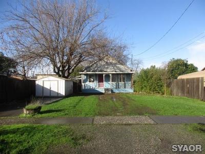 Colusa CA Single Family Home For Sale: $49,900