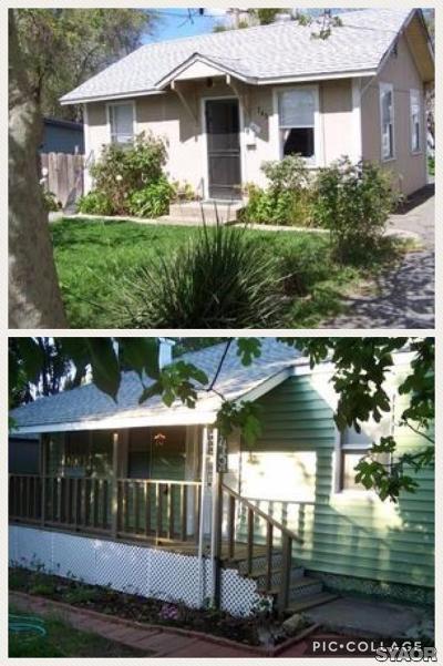 Yuba City Single Family Home For Sale: 245 Aylor Avenue #245 1/2
