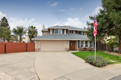 Yuba City Single Family Home Contingent: 1676 Donald Court