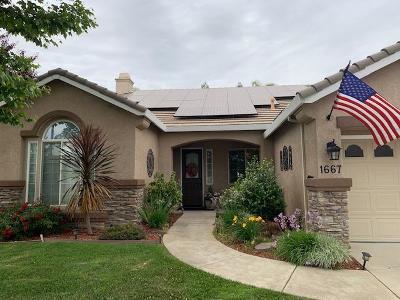 Yuba City Single Family Home For Sale: 1667 Tres Picos Drive