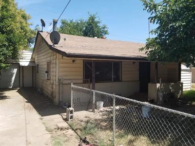 Marysville CA Single Family Home For Sale: $100,000