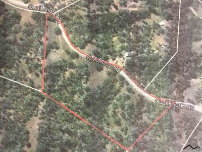 Cottonwood Residential Lots & Land For Sale: 17235 Quail Ridge
