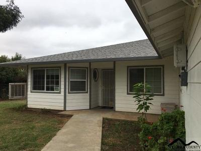 Los Molinos Single Family Home For Sale: 25345 Tehama Vina