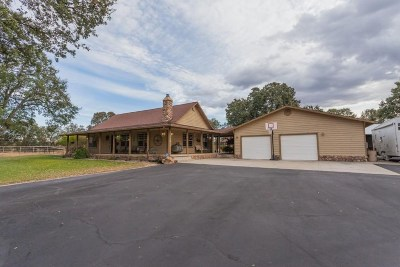 Cottonwood Single Family Home For Sale: 16875 Evergreen Road