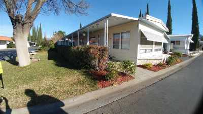 Red Bluff Manufactured Home For Sale: 137 Casa Grande Drive