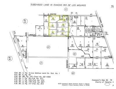Los Molinos Residential Lots & Land For Sale: 000-3 Tavira Court