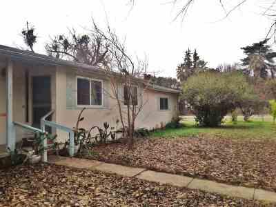 Tehama Single Family Home For Sale: 380 D Street
