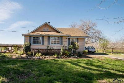 Red Bluff CA Single Family Home For Sale: $229,000