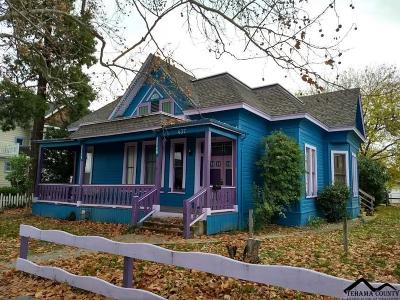 Red Bluff Single Family Home For Sale: 437 Washington Street