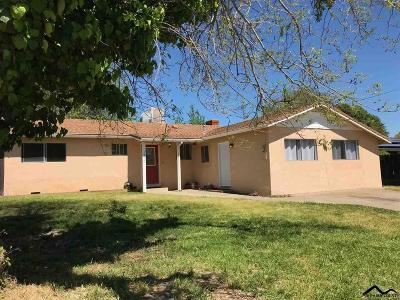 Red Bluff CA Single Family Home For Sale: $209,500