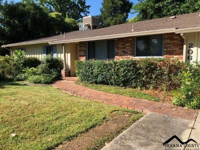 Red Bluff Single Family Home Active Under Contract: 206 Sherman Drive