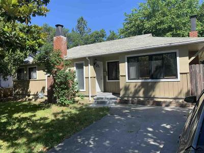 Red Bluff Single Family Home For Sale: 1620 Walnut Street