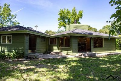 Red Bluff CA Single Family Home For Sale: $325,000